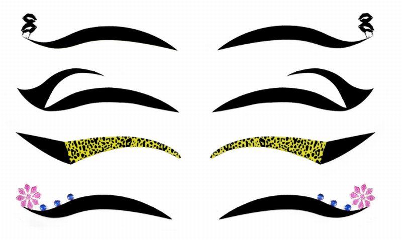 Kit Delineador Adesivo  Para os Olhos  EYE-1906