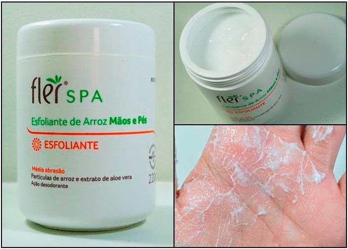 Kit Spa dos Pés e Mãos Hidratante de Ureia e Esfoliante de Arroz