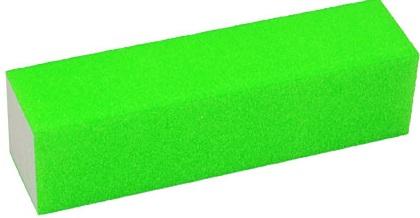 Lixa Cubo Verde Neon Para Acabamento Em Unhas - 01 Unidade