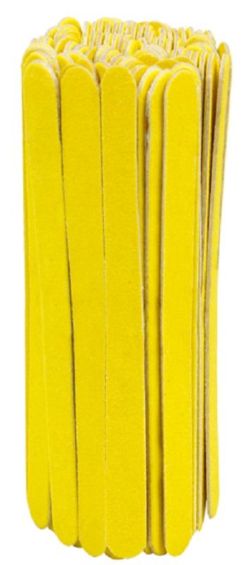 Lixa Média Amarelo Canário Para Unhas Com 100 unidades - Santa Clara