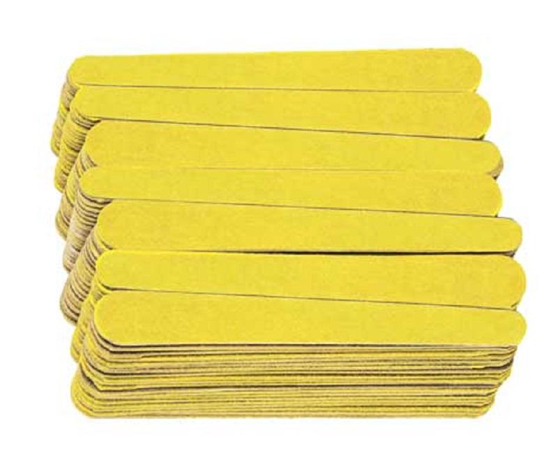 Lixa Média Amarelo Canário Para Unhas Com 20 unidades - Santa Clara