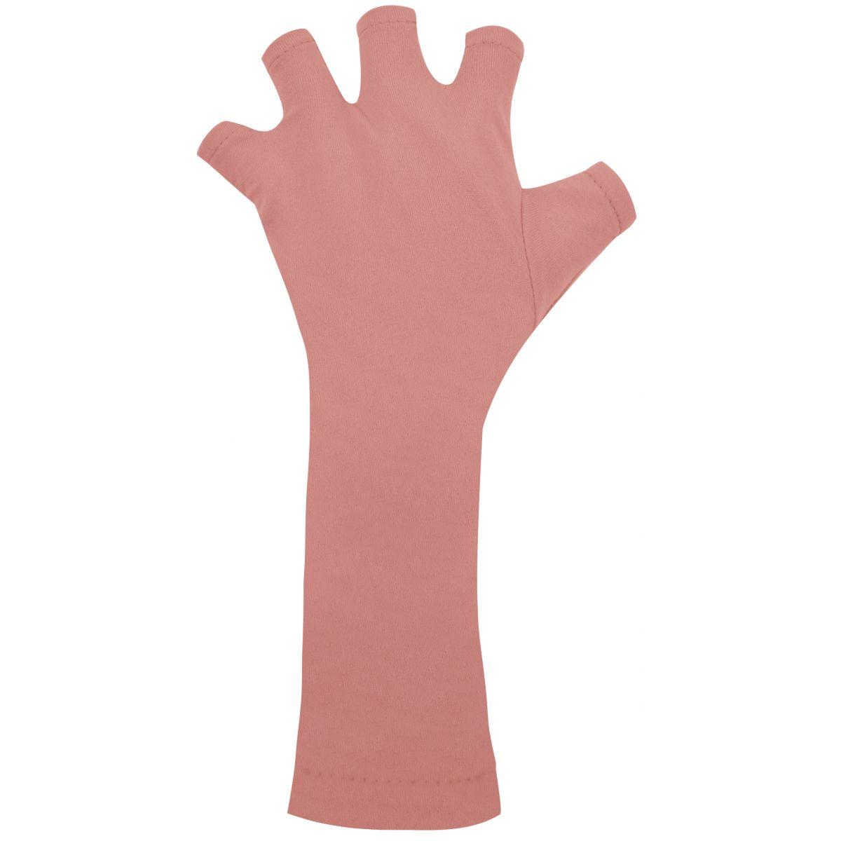 Luva Rosa Protetora Das M�os Para Cabine UV - Santa Clara