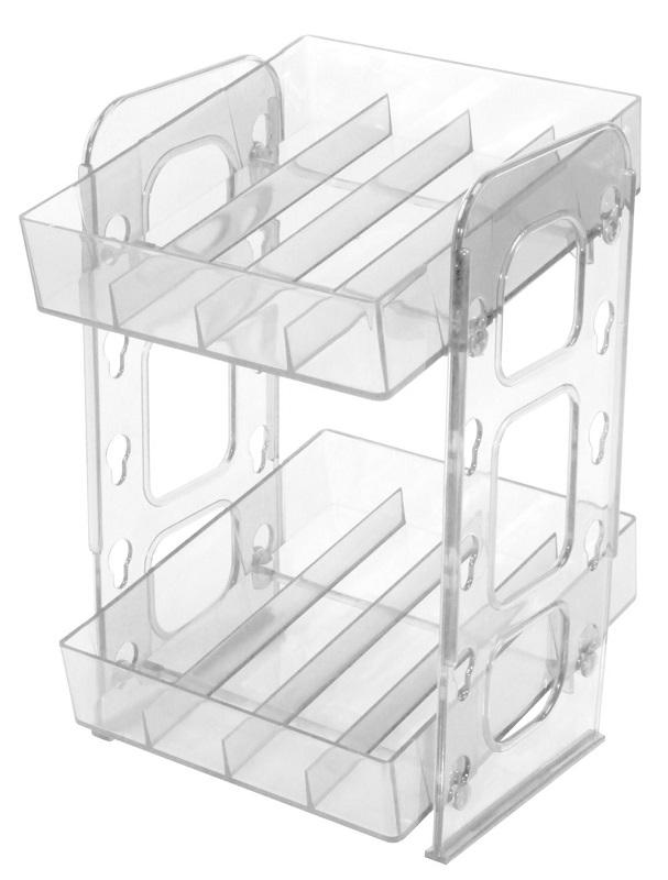 Mini Display Transparente para Esmaltes – Santa Clara