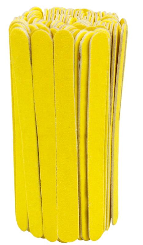 Mini Lixa Para Unhas Amarelo Canário 100 unidades - Santa Clara