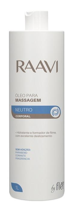Óleo Neutro para Massagem Corporal 1L - Raavi