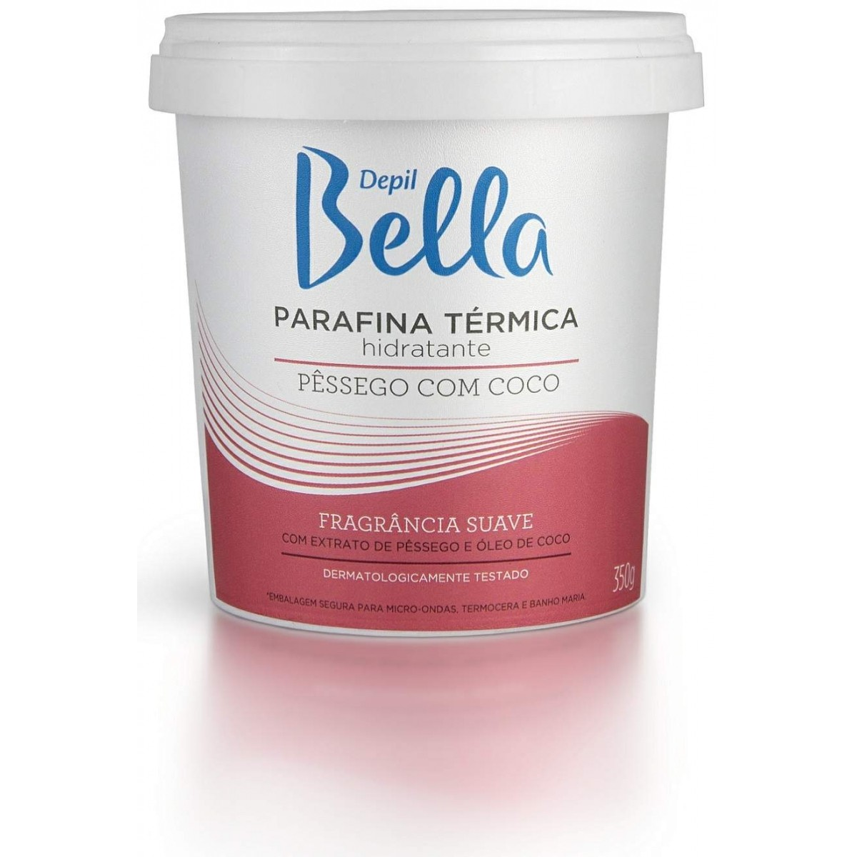 Parafina para Hidratação das Mãos e Pés Depil Bella