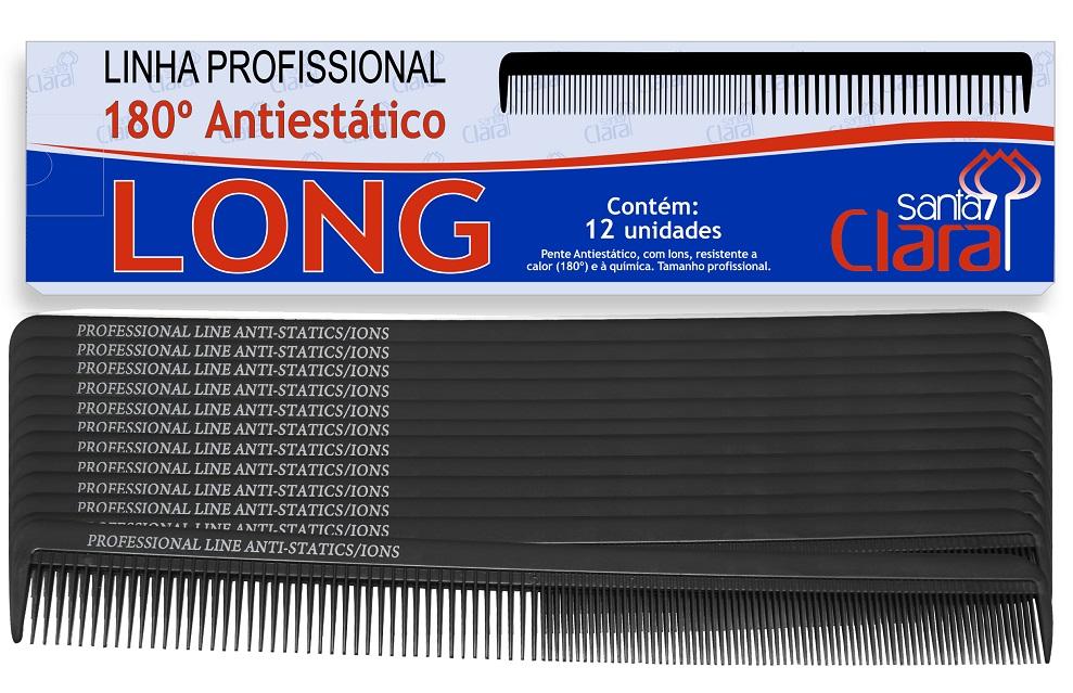 Pente De Corte Long Em Nylon Anti-estático íon Suporta 180º - 1 ou 12 Unidades