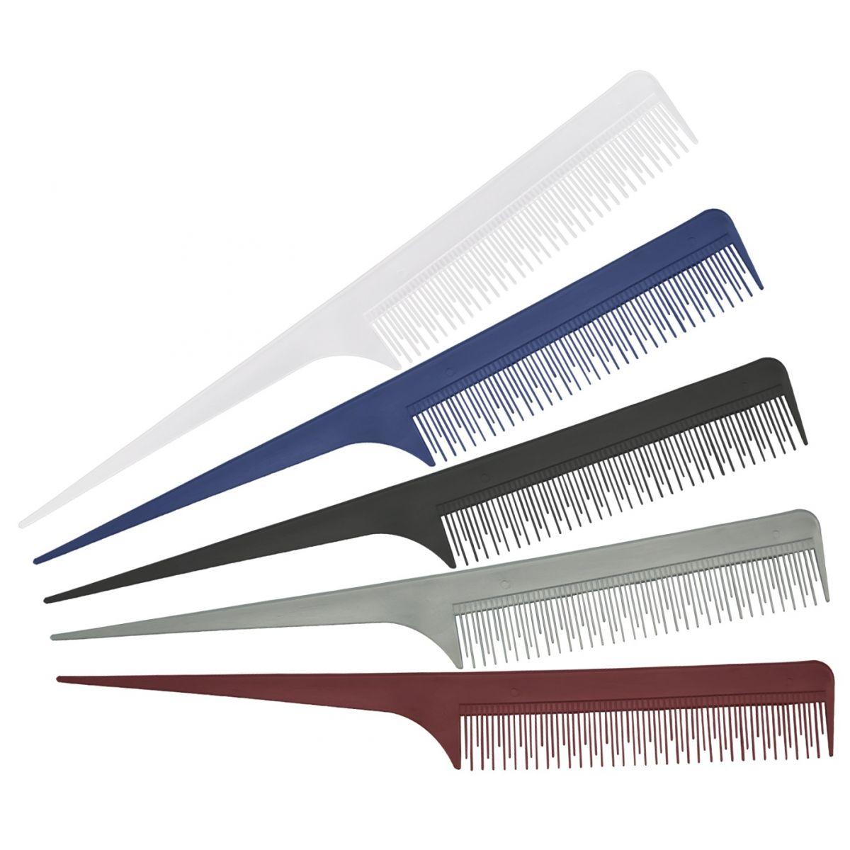 Pente De Plástico Simples Para Desfiar  Cabelo - Santa Clara