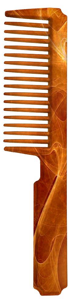Pente Plástico Importado Para Cabelos 01 Unidade - Santa Clara