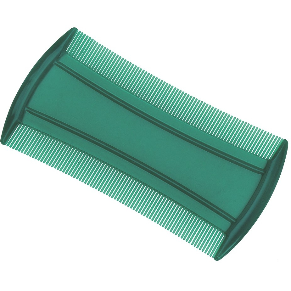 Pente Plástico Para Piolho - 01 Ou 12 Unidades