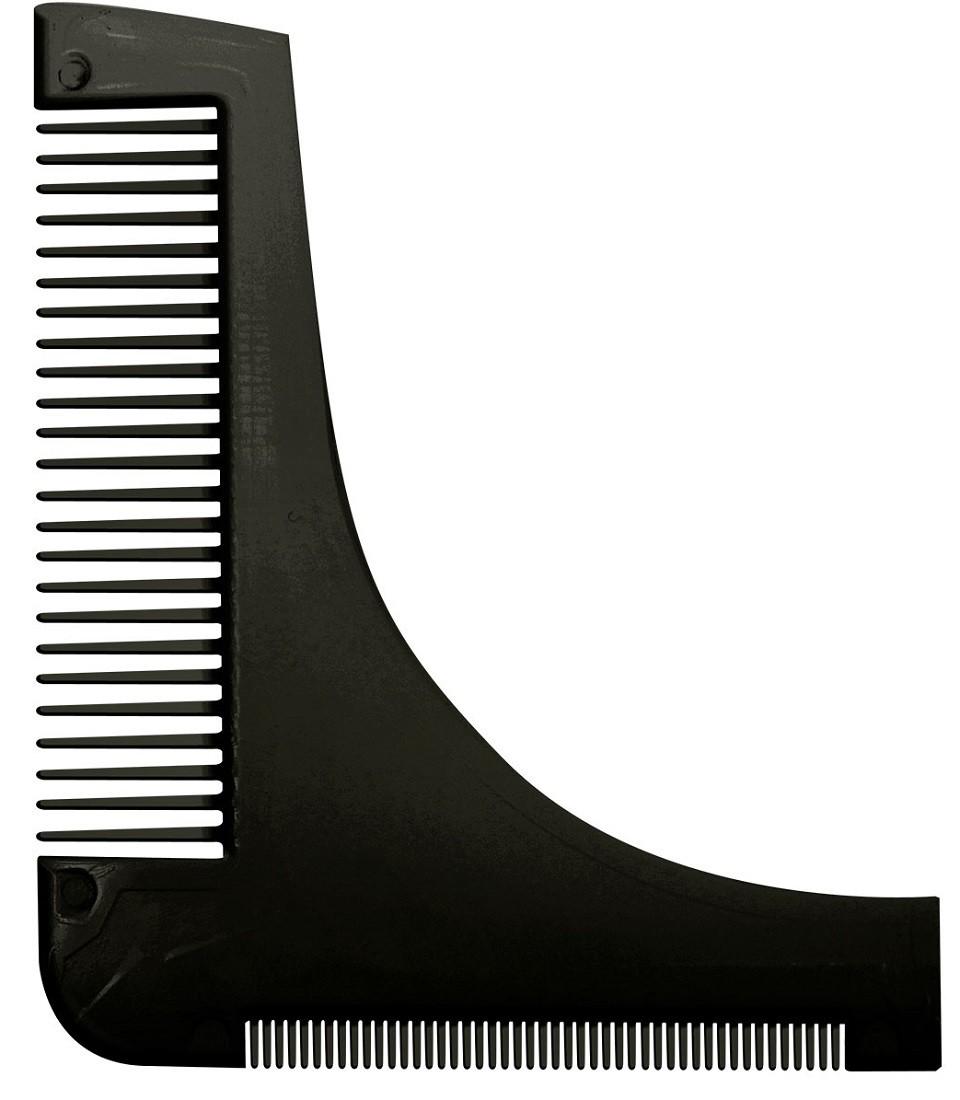 Pente Preto Modelador / Alinhador de Barba - Santa Clara