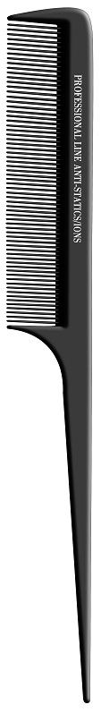Pente Profissional Stiling Antiestático Suporta 180° Preto