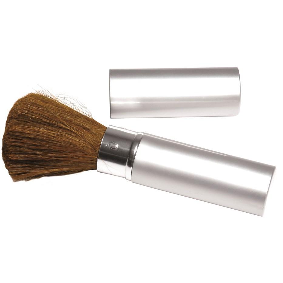 Pincel para Maquiagem Tubo em Alumínio 01 Unidade - Santa Clara