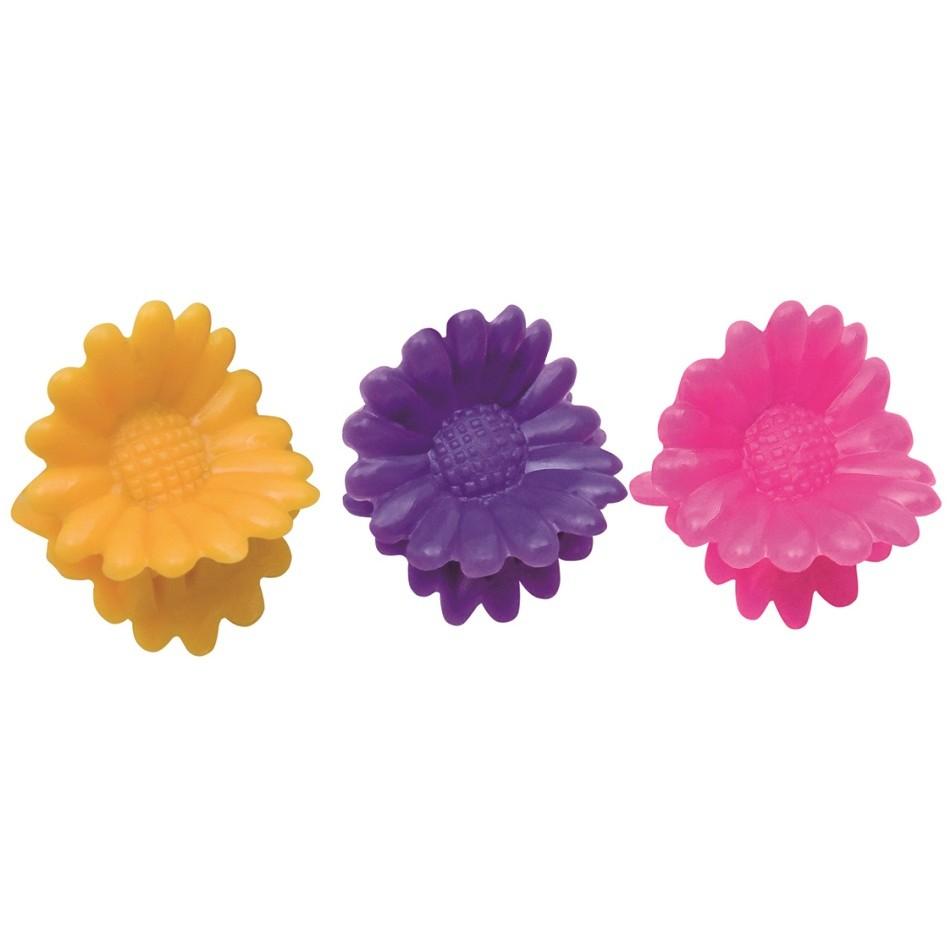 Piranha Plástica Infantil Modelo Flor Ref PR-55 Com 20 Unidades