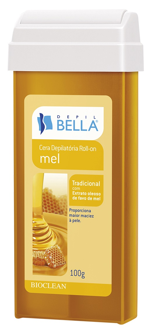 Refil de Cera Roll-on Depil Bella - Mel
