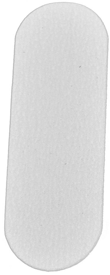 Refil De Lixa Fina Branca Para O Pé - Com 50 Unidades Santa Clara
