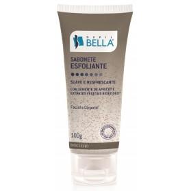 Sabonete Liquido Esfoliante Facial e Corporal 100g - Depil Bella