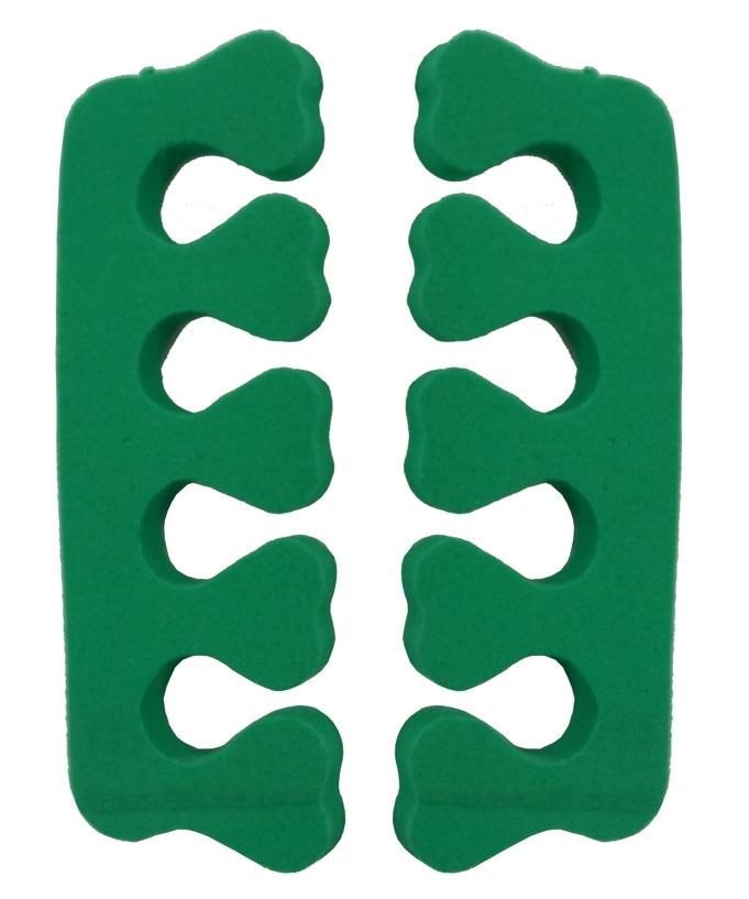 Separador De Dedos Em E.V.A Formato Coração 02 Unidades - Santa Clara