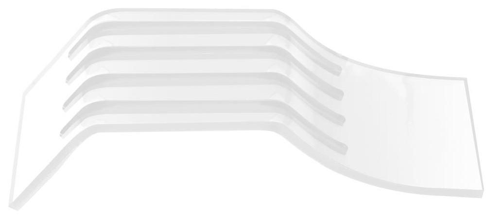 Suporte Acrílico 3mm Transparente Para Pentes Finos - Santa Clara