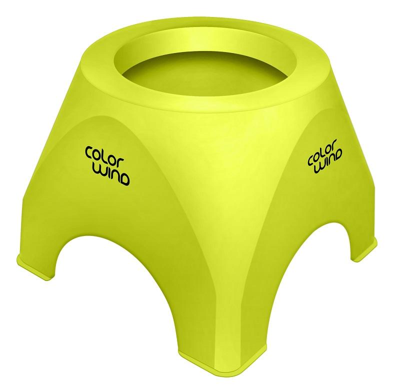 Suporte Verde Limão de Mesa para Secador de Cabelo - Santa Clara