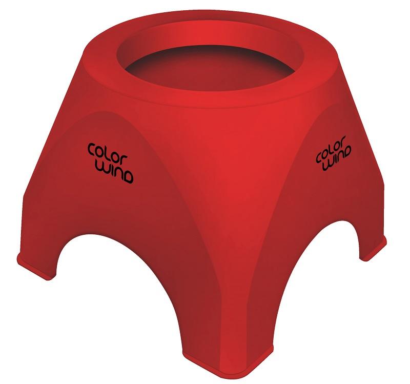 Suporte Vermelho de Mesa para Secador de Cabelo - Santa Clara