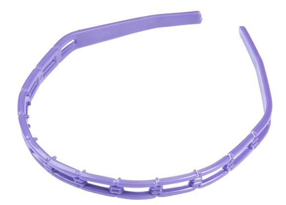 Tiara Pl�stica Para Cabelos TA-04 - Com 01 Ou 12 Unidades