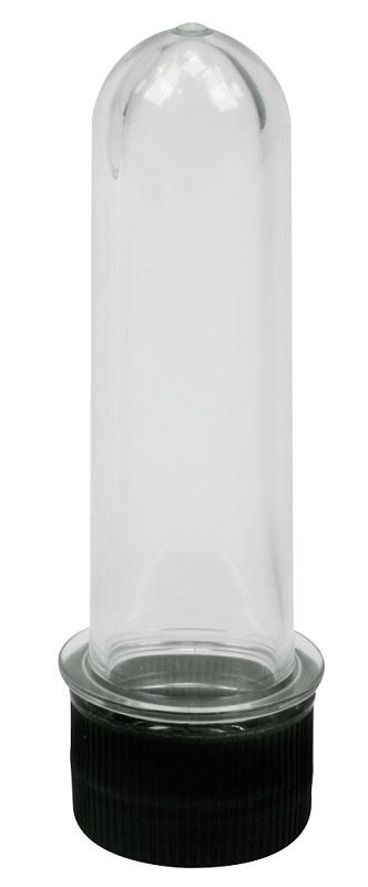 Tubo de Ensaio Transparente Médio 10cm - Santa Clara