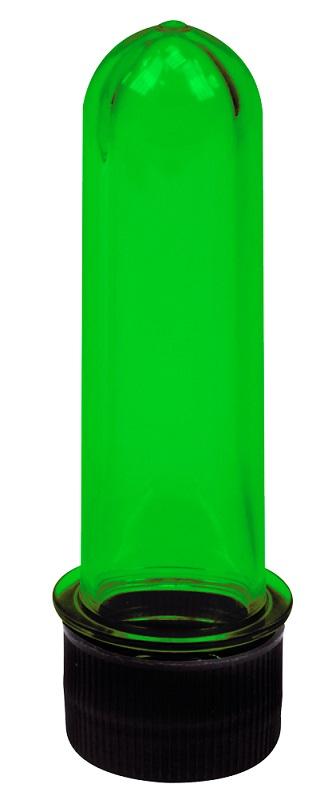 Tubo de Ensaio Verde Médio 10cm - Santa Clara