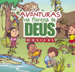 CD AVENTURAS NA FLORESTA DE DEUS  - LOJA VIRTUAL UFMBB