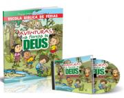 KIT - EBF + CD AVENTURAS NA FLORESTA DE DEUS