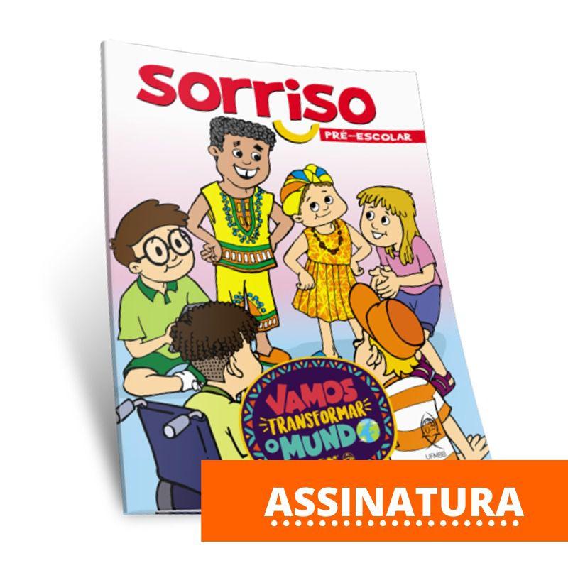 ASSINATURA SORRISO ATIVIDADES PRÉ-ESCOLAR  - LOJA VIRTUAL UFMBB