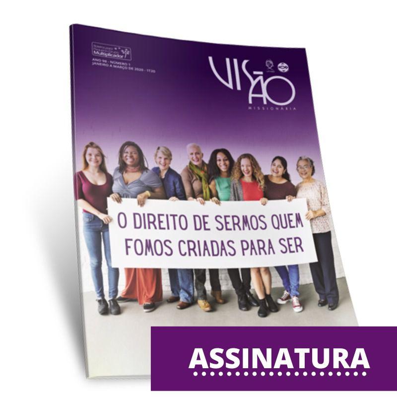 ASSINATURA VISÃO MISSIONÁRIA  - LOJA VIRTUAL UFMBB