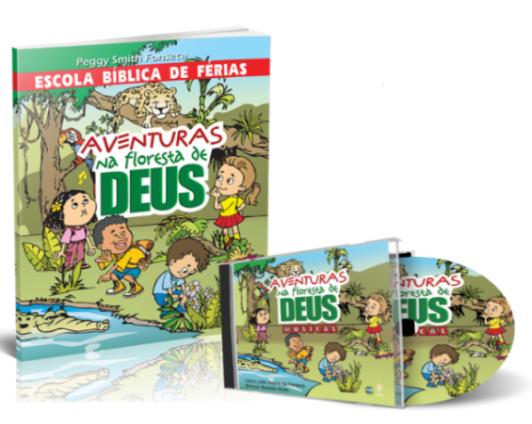 KIT - EBF + CD AVENTURAS NA FLORESTA DE DEUS  - LOJA VIRTUAL UFMBB