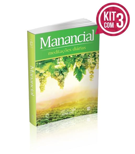 KIT COM 3- MANANCIAL TRADICIONAL  Vol. 17 – 2020  - LOJA VIRTUAL UFMBB