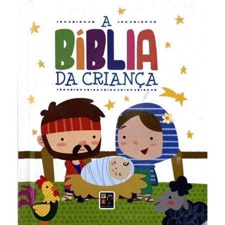 A Biblia da Criança - Editora Pé de Letra