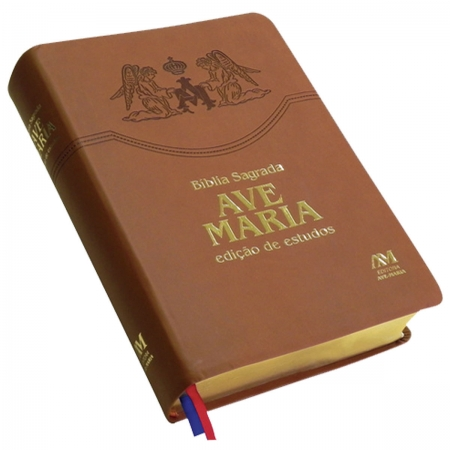 Bíblia Sagrada Ave Maria Edição Estudos