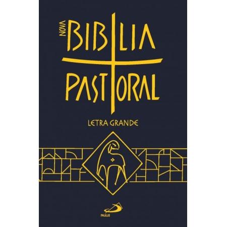 Biblia Sagrada Ed. Especial Pastoral Media Capa Plastica Letra Grande