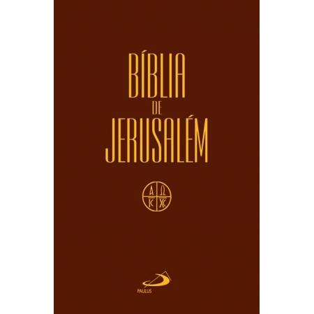 Biblia Sagrada Jerusalem Capa Plastica