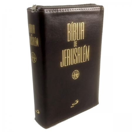 Biblia Sagrada Jerusalem Media Ziper
