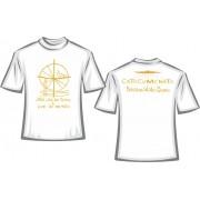CA25 - Camiseta Algodão Branca - Catecumenato