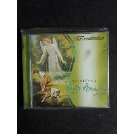 CD - Coletanea Anjo Amigo - Banda Novo Milenio