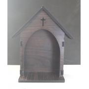 CT30 - Capela Oratorio Madeira 21cmX13cmX5mm