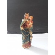IB130 - Nossa Senhora do Rosario 08cm Resina