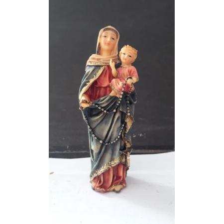 IB131 - Nossa Senhora do Rosario 10cm Resina