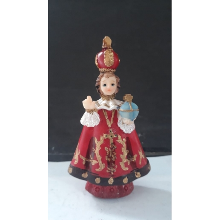 IB860 - Menino Jesus de Praga 08cm Resina