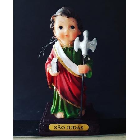 IC461 - São Judas Tadeu 11cm Criança Resina