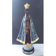 ID486 - Nossa Senhora Aparecida 29cm Resina