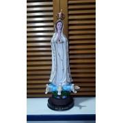 ID66 - Nossa Senhora Fátima 29cm Resina