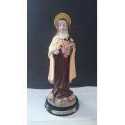 ID943 - Santa Teresinha do Menino Jesus 14cm Resina