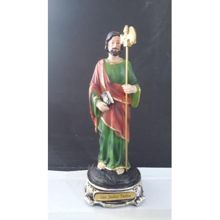 IDC464 - São Judas Tadeu 20cm Resina Gold